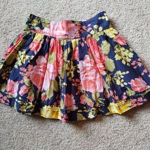 ABERCROMBIE FLORAL FULLY LINED SKIRT
